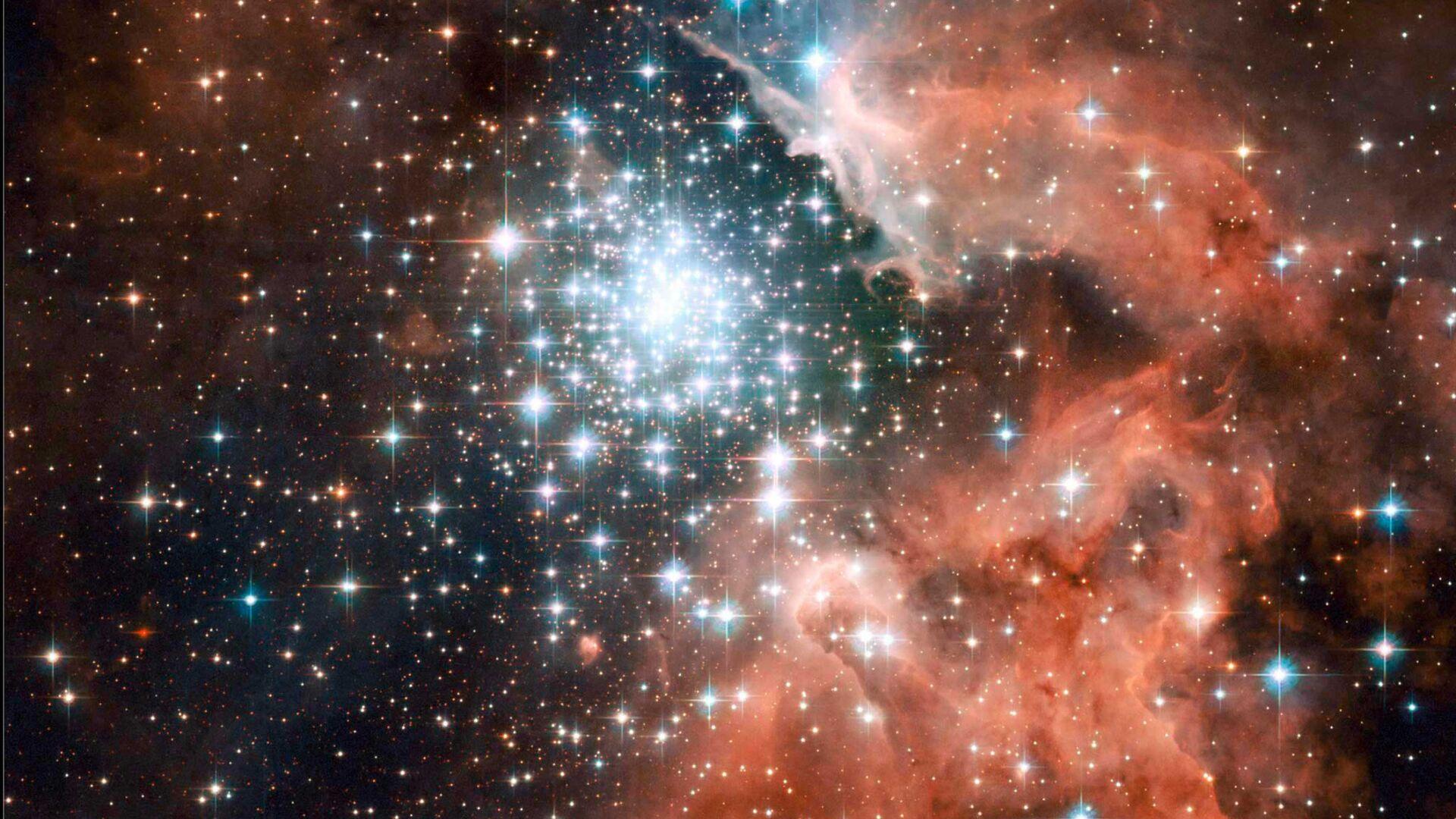 Туманность NGC 3603 в спиральном рукаве Киля нашей Галактики - Sputnik Česká republika, 1920, 27.04.2021
