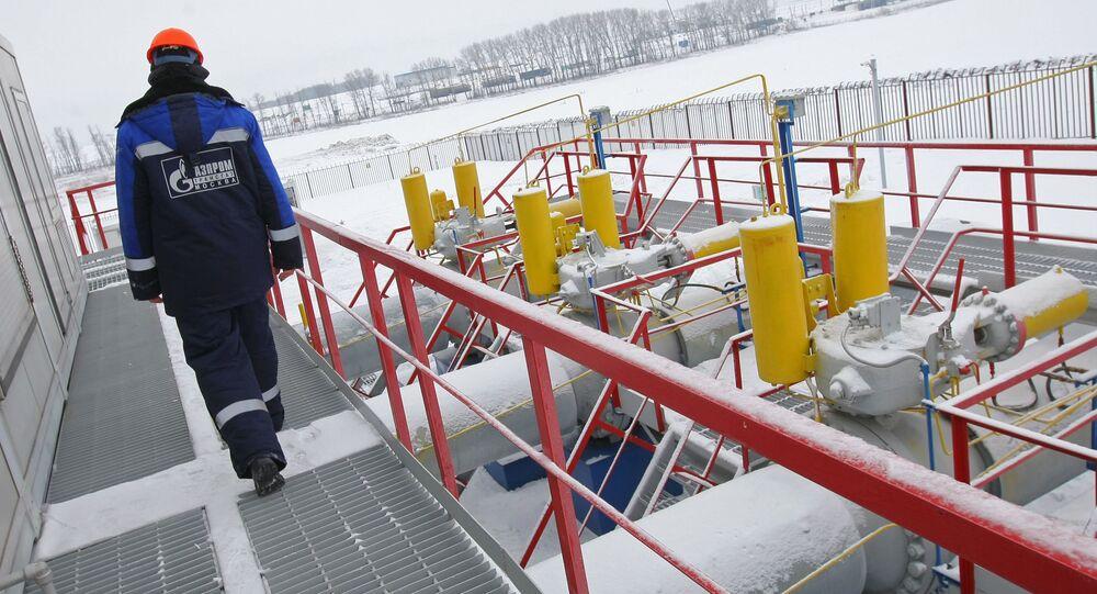 Zaměstnanec Gazpromu