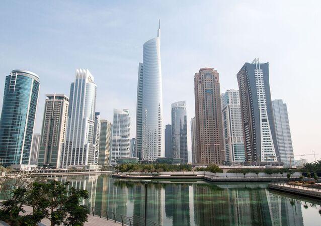 Pohled na Dubaj