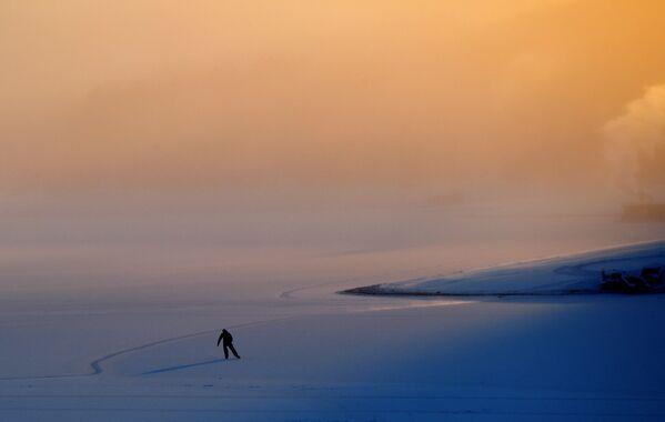 Nejúchvatnější roční období: Neuvěřitelné fotografie zimy v Krasnojarském kraji - Sputnik Česká republika