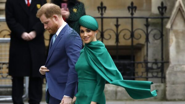 Princ Harry s manželkou Meghan Markle - Sputnik Česká republika