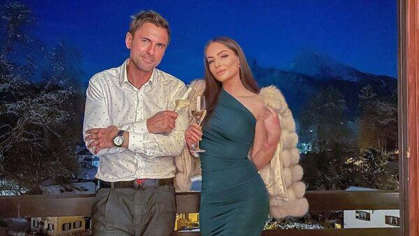 Česká youtuberka Týnuš Třešničková a její nový přítel. - Sputnik Česká republika