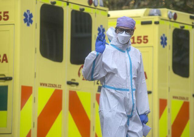 Zdravotnický pracovník v Motolu