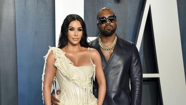 Kim Kardashian a Kanye West - Sputnik Česká republika