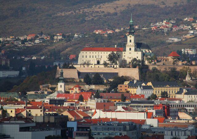 Slovenská Nitra. Ilustrační foto