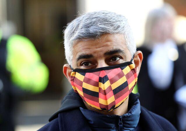 Londýnský primátor Sadiq Khan