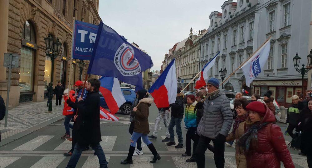 Demonstrace v Praze