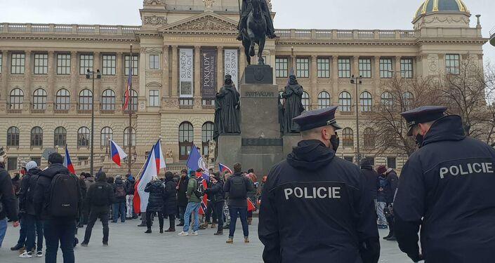 Akce na Václavském náměstí