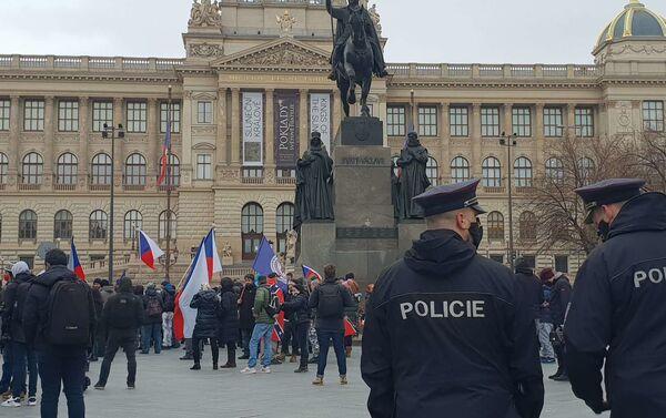 Akce na Václavském náměstí - Sputnik Česká republika