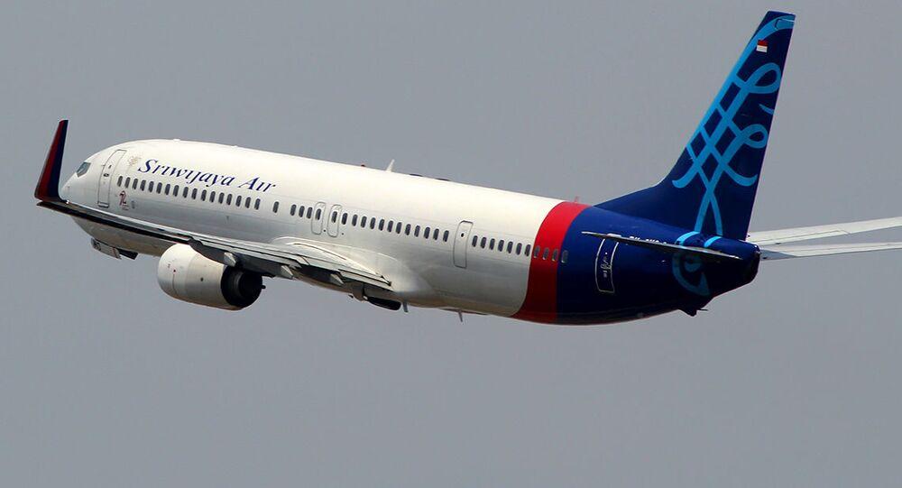 Letadlo společnosti Sriwijaya Air