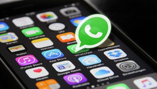 Ikona aplikace WhatsApp - Sputnik Česká republika