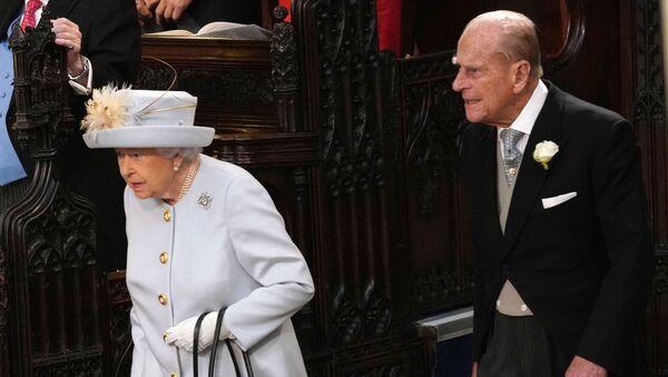 Britská královna Alžběta II. a její manžel princ Philip - Sputnik Česká republika