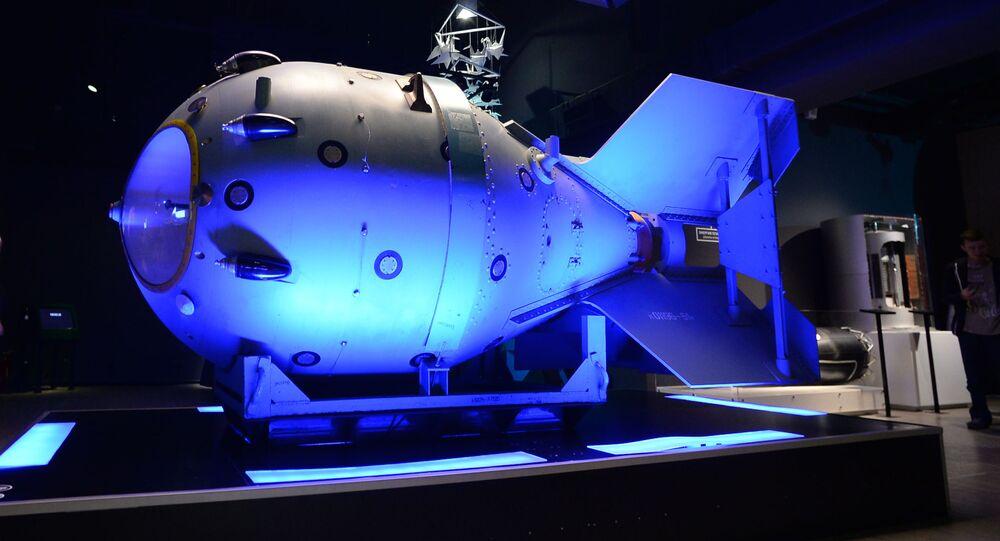 Maketa první sovětské jaderné bomby RDS-1