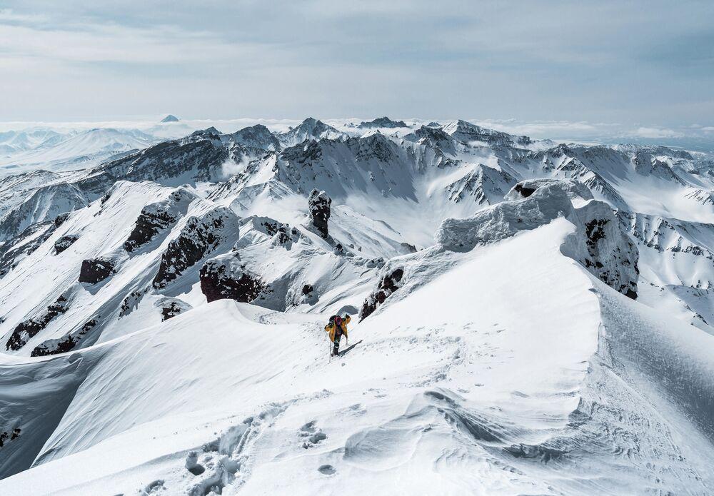 Jevgenij Chilkevič: Na cestě na vrchol Tumrok. Kamčatská oblast, rok 2020