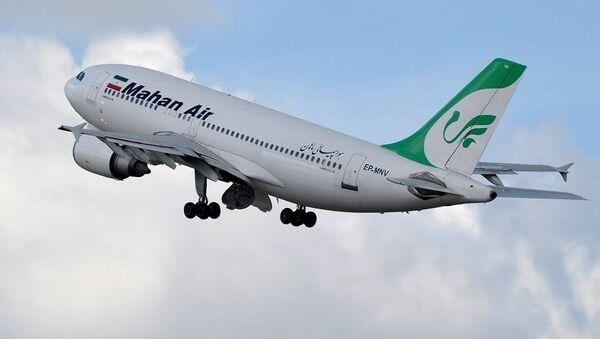 Letoun Airbus A310 letecké společnosti Mahan Air. Ilustrační foto - Sputnik Česká republika