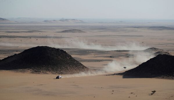 Rallye Dakar v Saúdské Arábii. - Sputnik Česká republika
