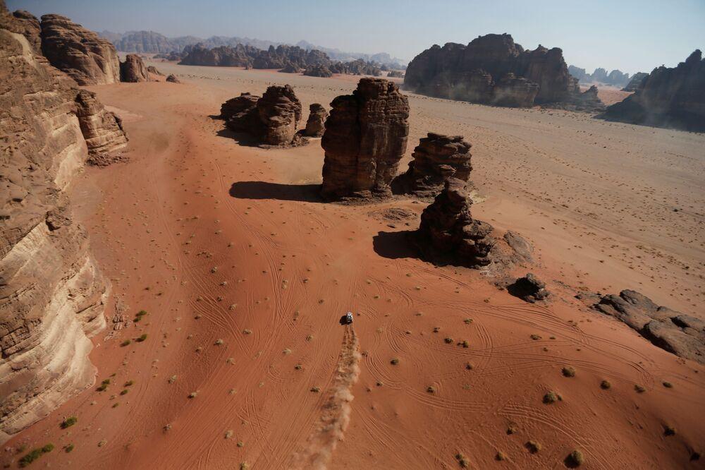 Rallye Dakar v Saúdské Arábii