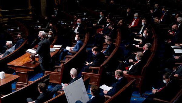 Zasedání v Kongresu USA. Ilustrační foto - Sputnik Česká republika