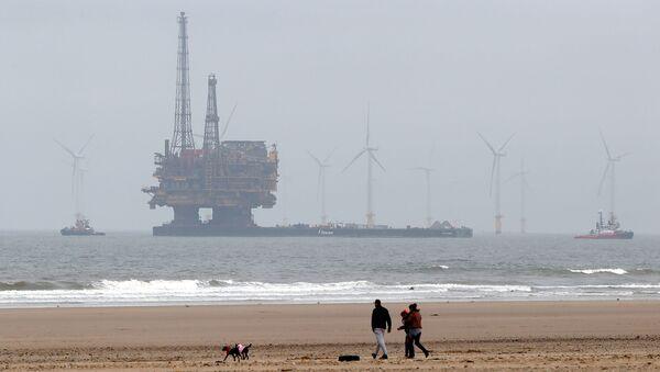 Těžba ropy v Severním moři společností Brent Delta Topside - Sputnik Česká republika