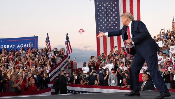 Make Amerika great again? Klíčové události prezidentství Donalda Trumpa ve fotografiích - Sputnik Česká republika