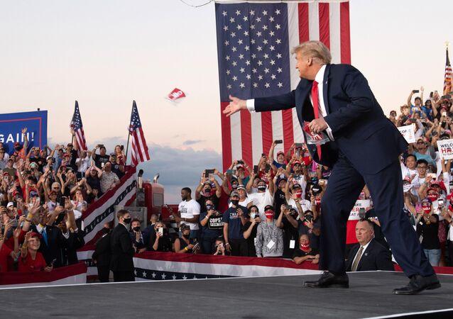 Make Amerika great again? Klíčové události prezidentství Donalda Trumpa ve fotografiích