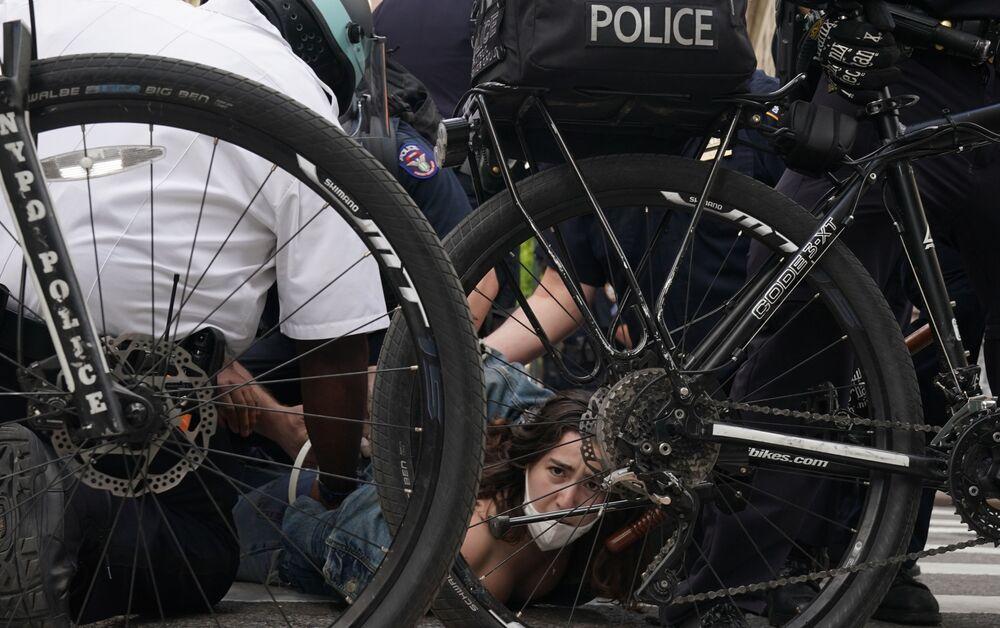 Protesty v New Yorku po smrti George Floyda