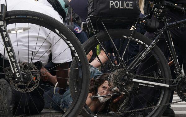 Protesty v New Yorku po smrti George Floyda - Sputnik Česká republika