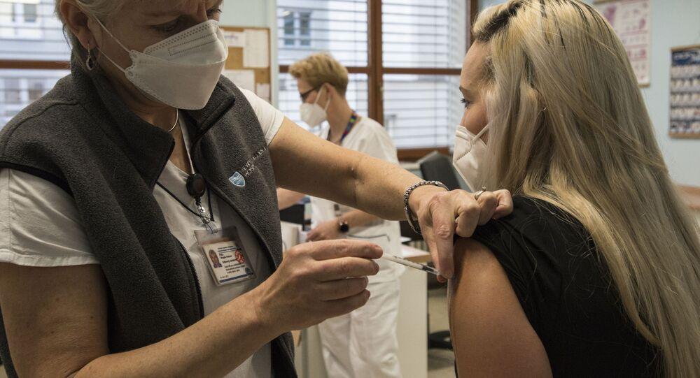 Očkování v VFN v Praze