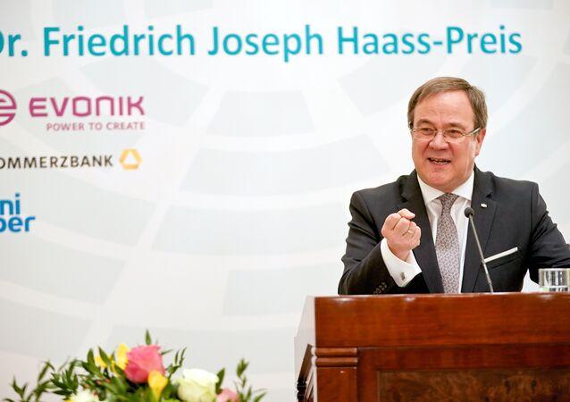 Předseda Křesťanskodemokratické unie (CDU) Armin Laschet