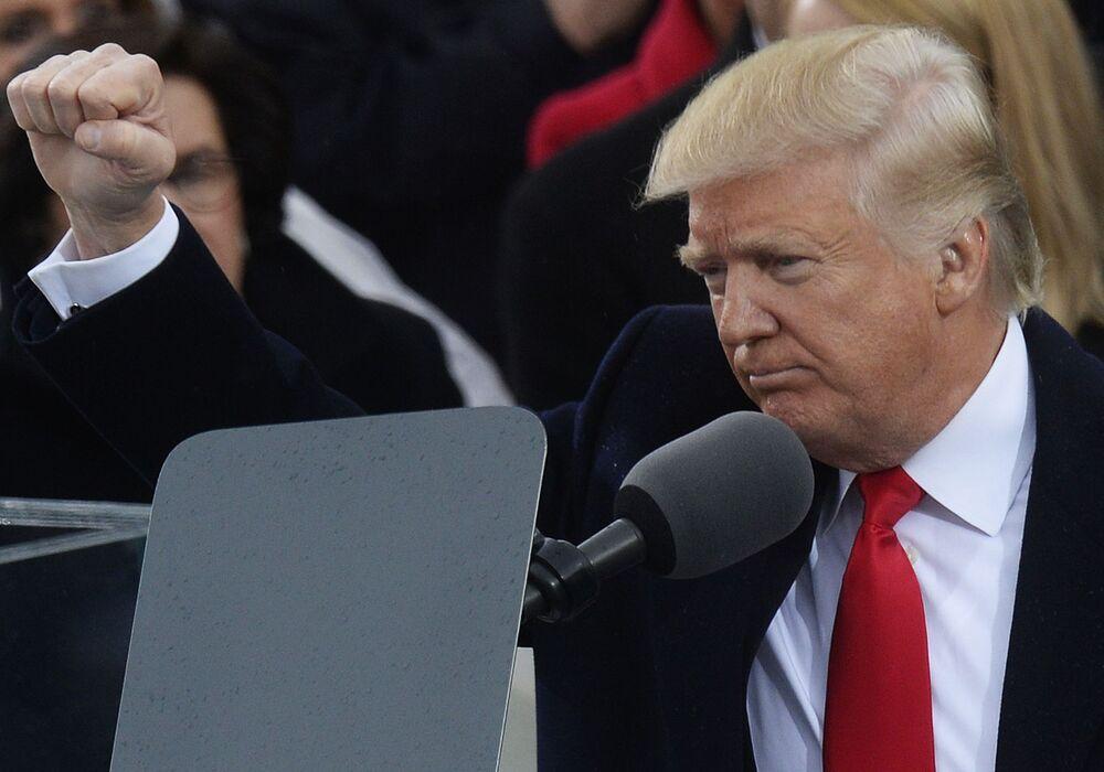 Současný americký prezident Donald Trump