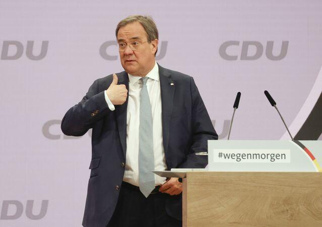 Předseda CDU Armin Laschet