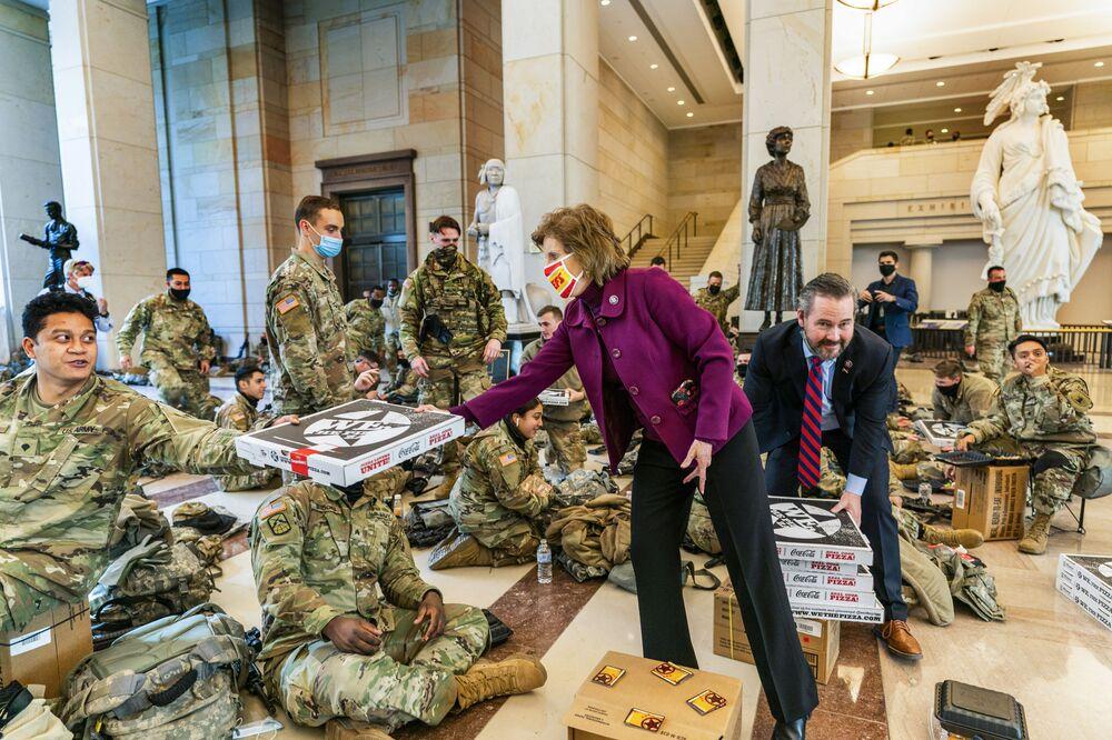 Národní garda USA v Kapitolu