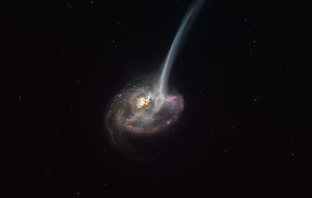 Umělecké zobrazení galaxie ID2299