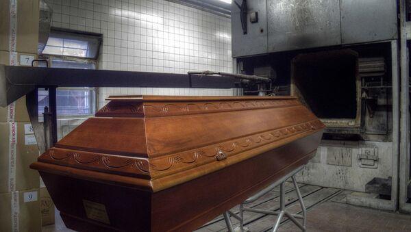 Kremační pec - Sputnik Česká republika