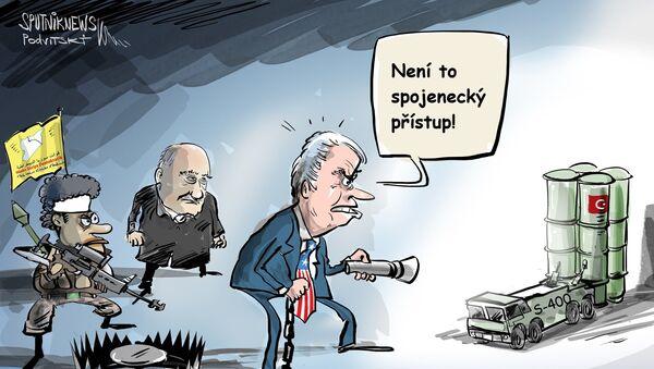 Takhle spojenci nejednají  - Sputnik Česká republika