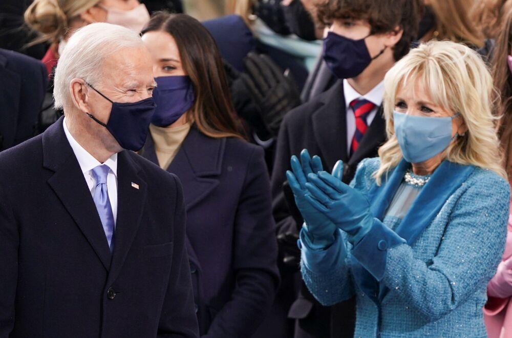 Ani hvězdy a bývalí prezidenti nechyběli: Inaugurace Joea Bidena