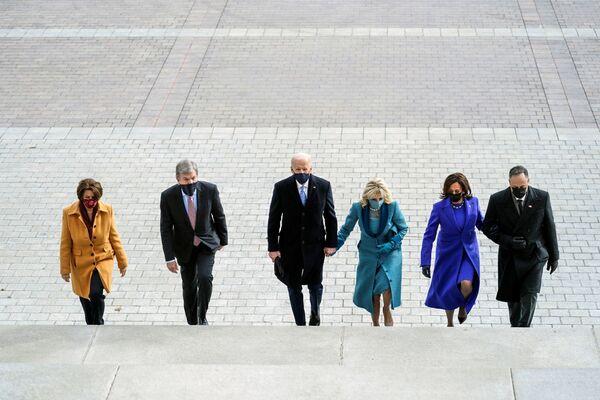 Ani hvězdy a bývalí prezidenti nechyběli: Inaugurace Joea Bidena - Sputnik Česká republika