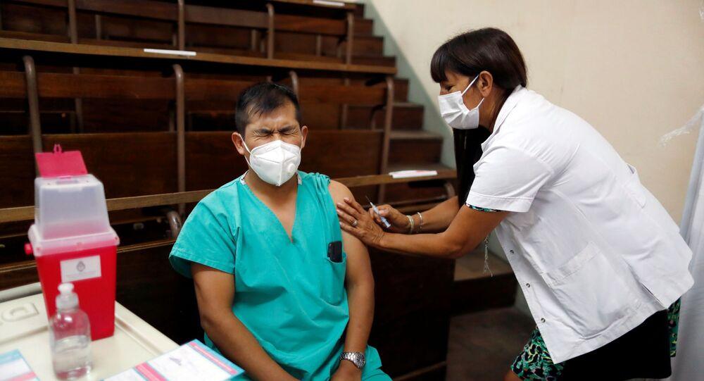 Očkování vakcínou Sputnik V v Argentině