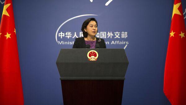 Mluvčí čínského ministerstva zahraničí Hua Chunying - Sputnik Česká republika