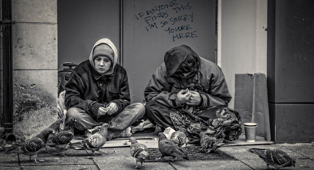 lidé bez domova