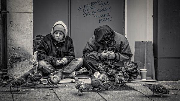 lidé bez domova - Sputnik Česká republika