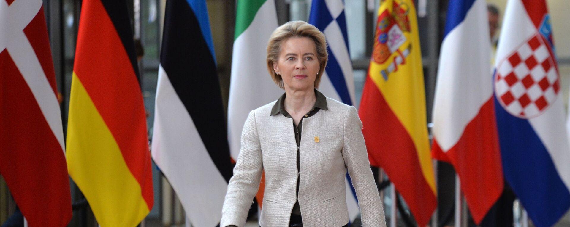 Předsedkyně Evropské komise Ursula von der Leyenová  - Sputnik Česká republika, 1920, 25.05.2021