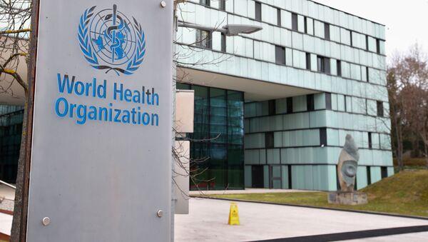 Logo Světové zdravotnické organizace. Ilustrační foto - Sputnik Česká republika