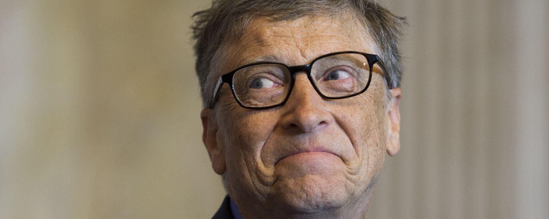 Bill Gates - Sputnik Česká republika, 1920, 20.02.2021
