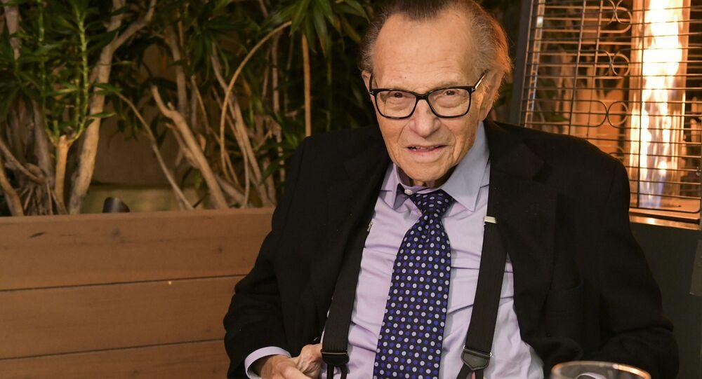 Televizní moderátor Larry King