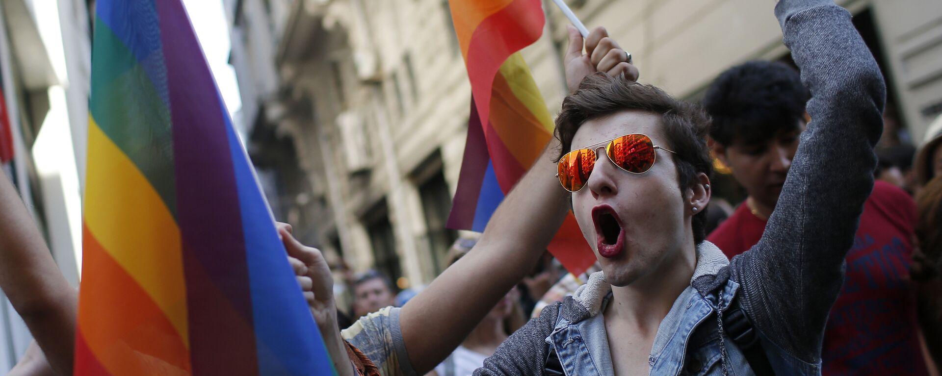 Pride week. Ilustrační foto - Sputnik Česká republika, 1920, 29.06.2021