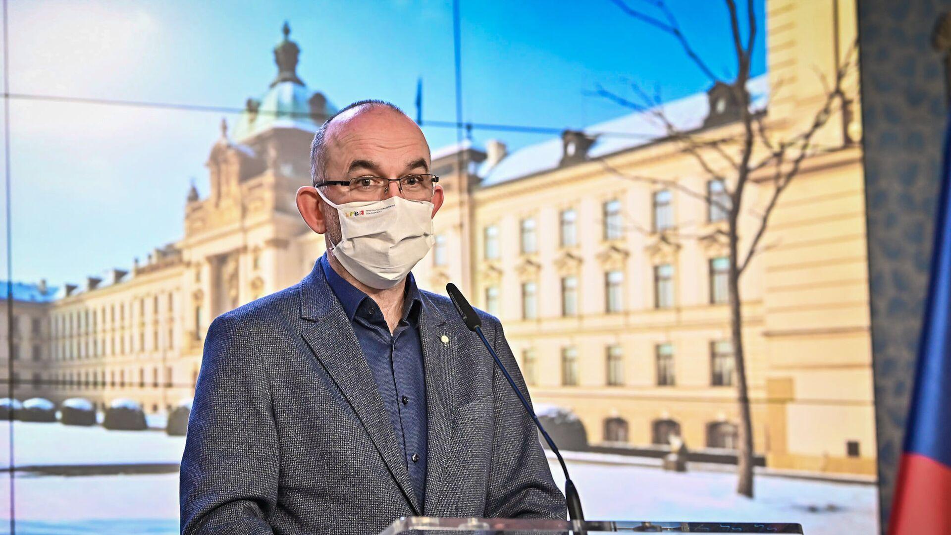 Ministr zdravotnictví Jan Blatný - Sputnik Česká republika, 1920, 27.02.2021