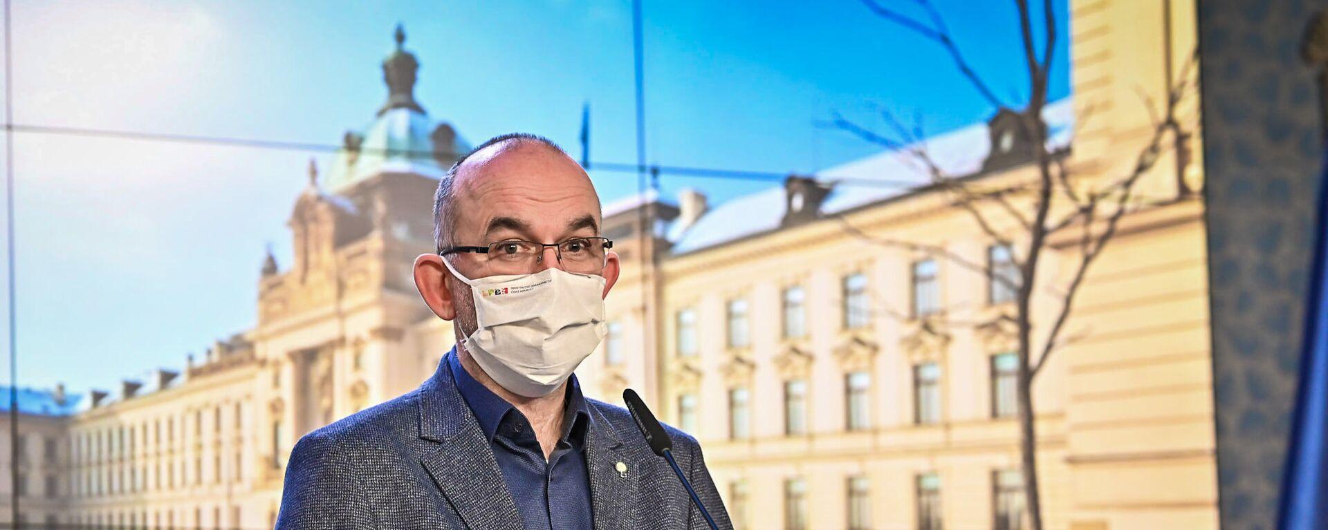 Exministr zdravotnictví Jan Blatný - Sputnik Česká republika, 1920, 02.07.2021