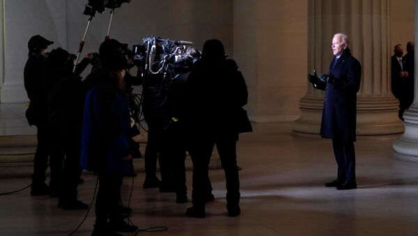 Americký prezident Joe Biden - Sputnik Česká republika