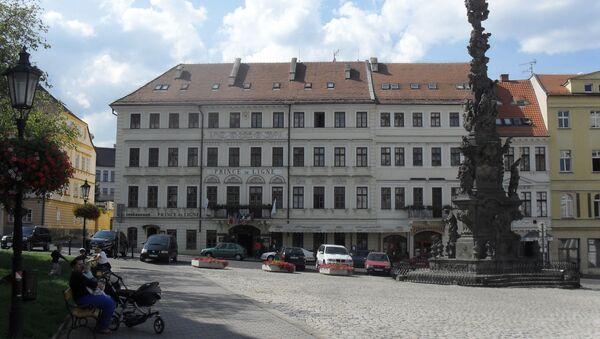 Hotel Prince de Ligne v Teplicích. - Sputnik Česká republika